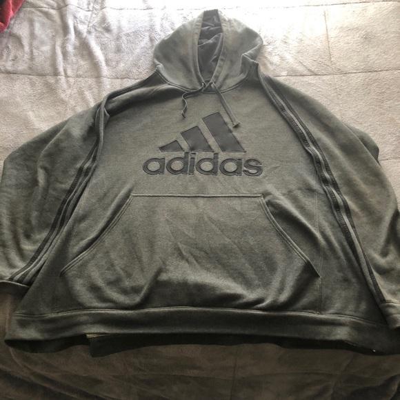 Adidas Hooded Sweatshirt (4XL Hoodie)